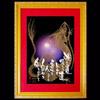 金龍-紫-額装見本